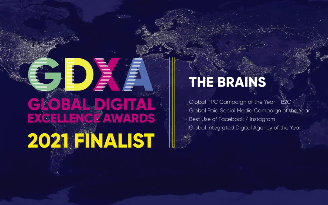 The Brains Triumph at the 2021 Global Digital Excellence Awards