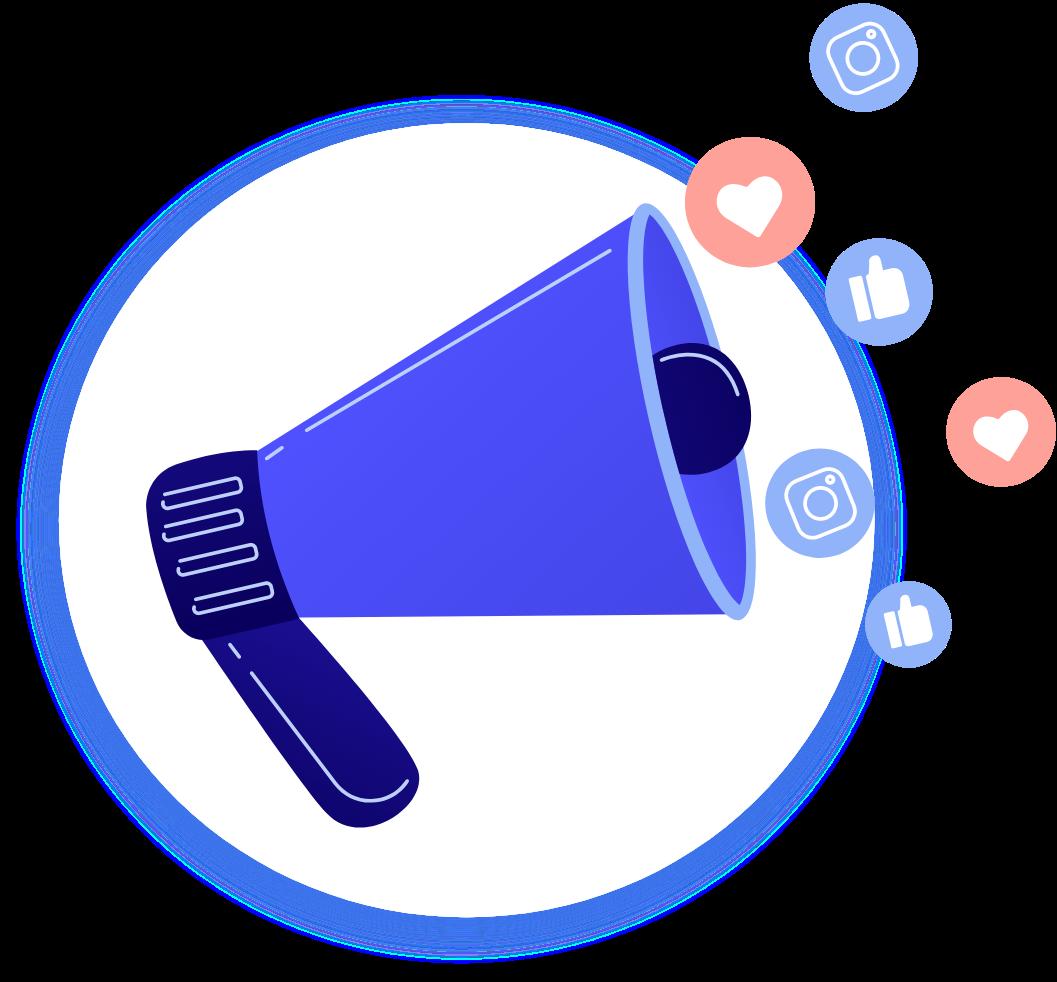 Social media marketing services - The Brains